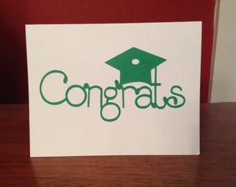 5 Congrats graduations cards with envelopes