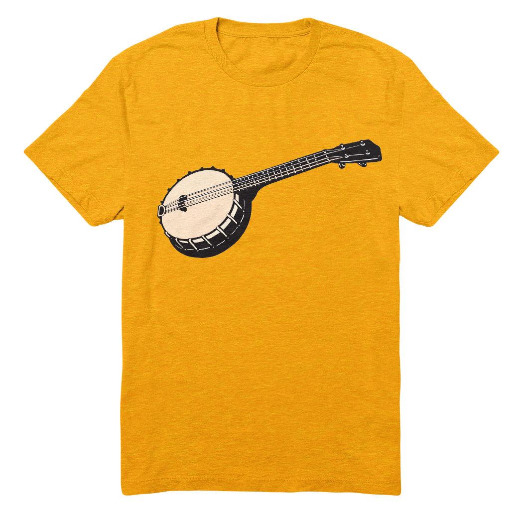 Banjo Ukulele T Shirt Unisex Banjolele Or Banjo Uke By