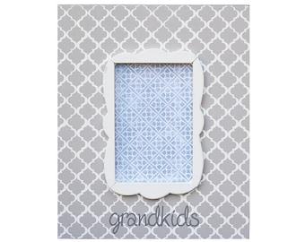 "grandkids frame for 4""x6"" photo"