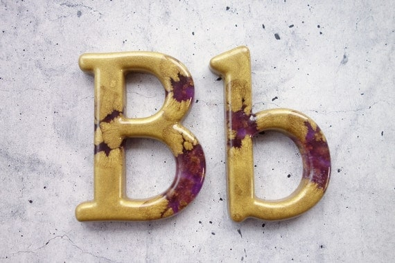 gold letters for wall decorative letter b wall decor handmade resin letter gold 21963 | il 570xN.774900837 mdhx