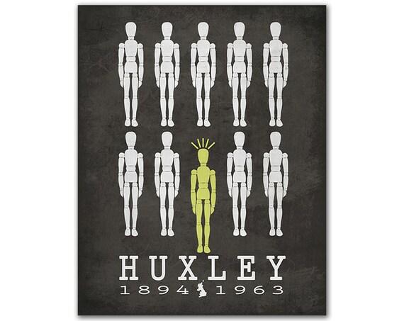 brave new world huxleys message