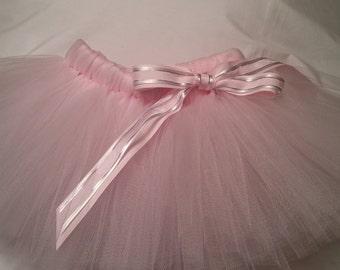 Light Pink Tutu, light pink baby tutu, baby tutu, infant tutu, toddler tutu, newborn tutu, 1st birthday tutu, birthday tutu, preemie tutu
