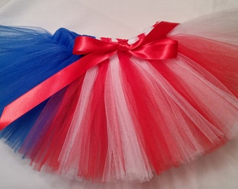 4th of July tutu, Flag tutu, Red White and Blue Tutu, Patriotic tutu, baby tutu, infant tutu, toddler tutu, newborn tutu, preemie tutu