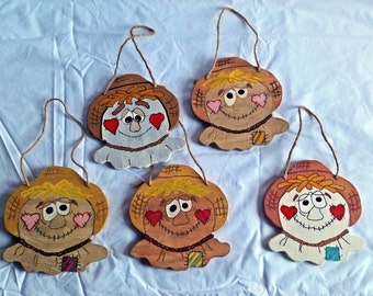 Hanging Scarecrow Signs