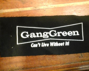 GANG GREEN small patch