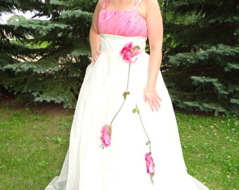 1950's Pretty in Pink Party Prom Dress