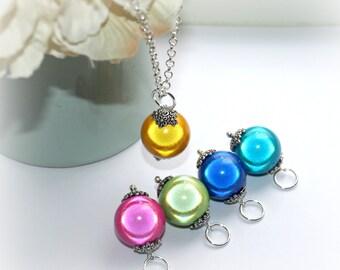 Miracle Bead Acorn Interchangeable Necklace Set