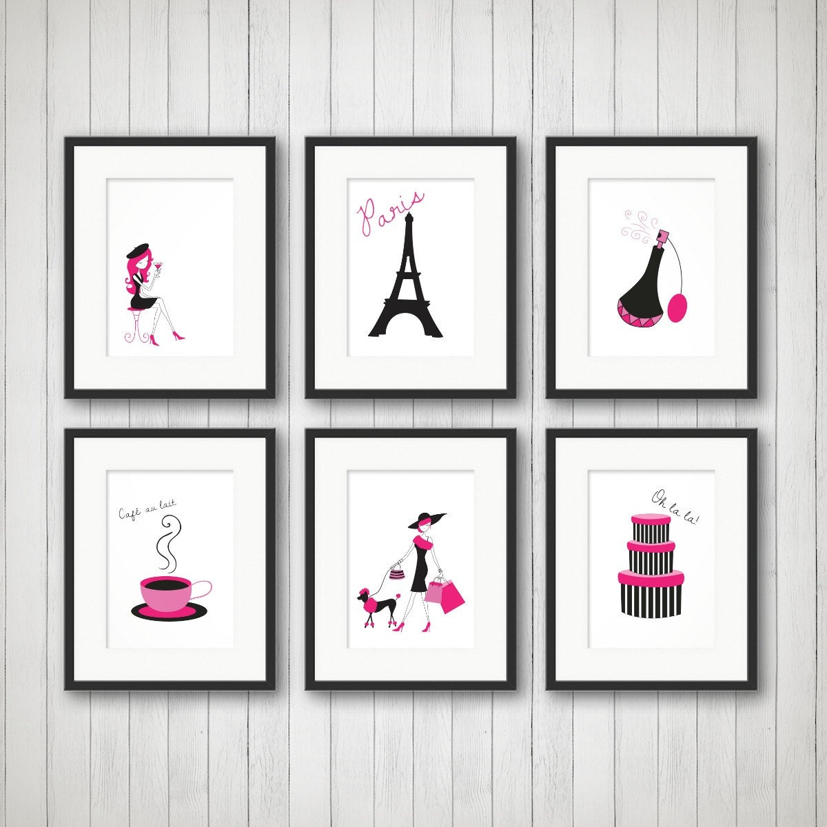 Paris Decor Teen Room Decor Fashion Print Fashion Art