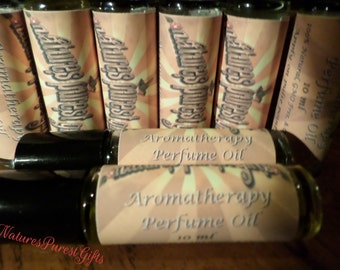 Perfume Oil- Organic- Roll-On Aromatherapy