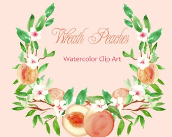 Digital Watercolours clipart hand drawn. Wreath Sweet pastel. Romantic wedding, tender, pink and yellow pastel flowers , invitations