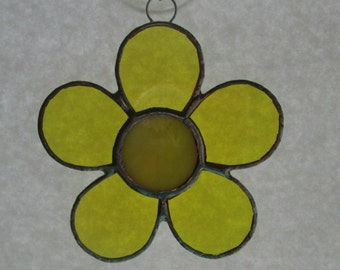 Stained Glass Daisy Suncatchers - More Colors