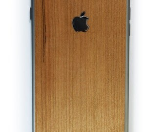 Real Wood Skin for the iPhone 6 Plus and 6s Plus, free shipping worldwide