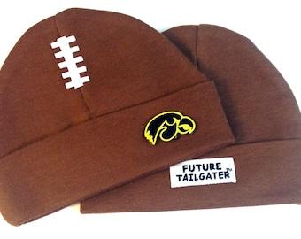 Iowa Hawkeyes Baby Football Cap