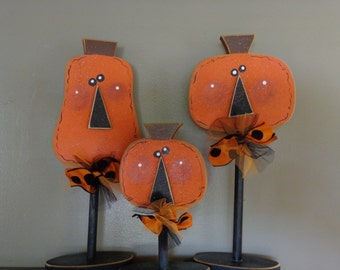 Jack O'Lantern, Pumpkin, Fall decor, Halloween Decor, Jack O' Lantern stands