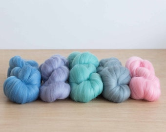 Wool Top - Pastel 5 Pack