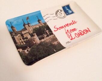 Vintage Melamine Souvenir from London Dish Tower of London