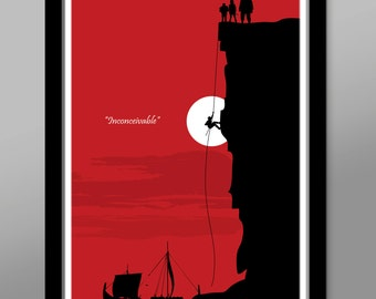 Inconceivable Minimalist Movie Poster -  Poster 285 - Home Decor