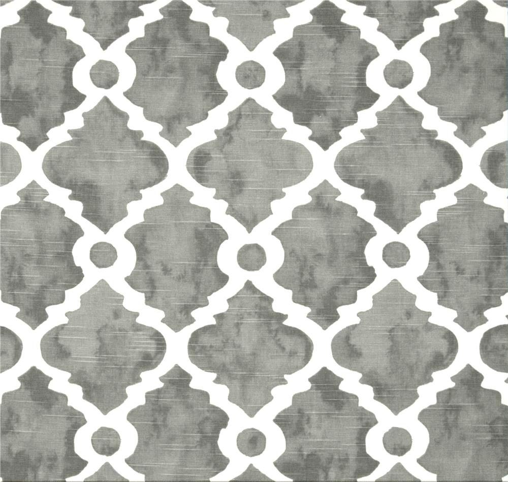 gray lattice fabric geometric home decor fabricthe yard
