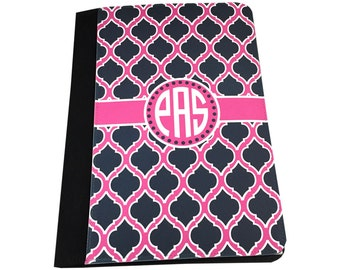 Monogram Legal Pad Notepad Cover Monogram Portfolio Cover Notepad Cover Custom Notepad Legal Size Notepad Holder