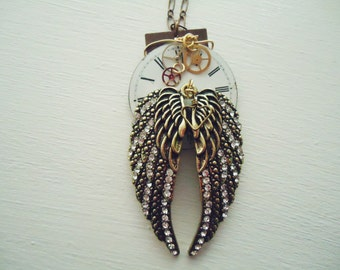 Steampunk Industrial necklace