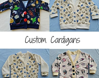Cardigan Made to Order