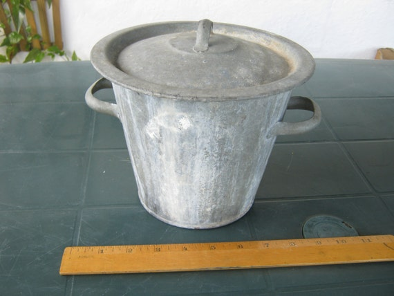 french metal bucket vintage metal bucket small wash tub