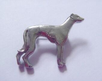 1990's Vintage Female Greyhound Brooch