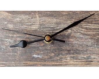 Stunning Brown Barn Wood Look Wall Clock