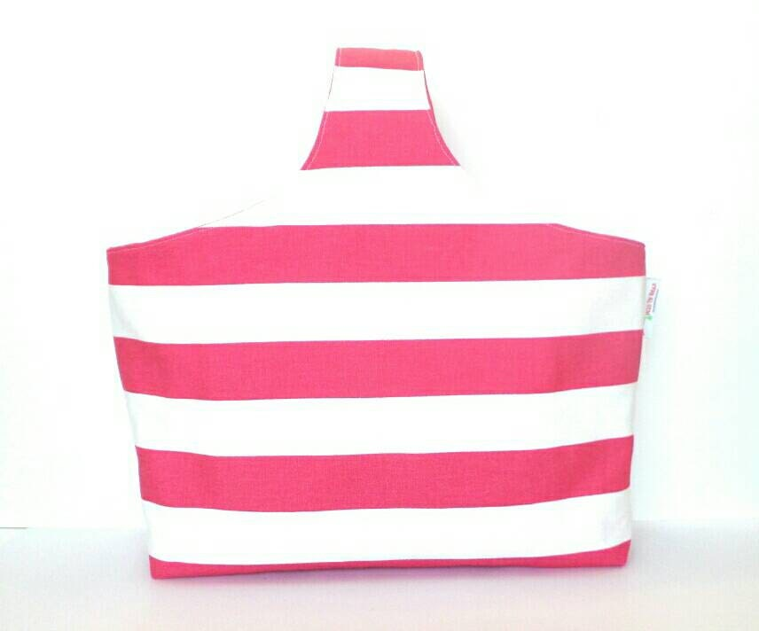 Knitting Project Bags For Sale : Sale pink polka dots knitting project bag tote