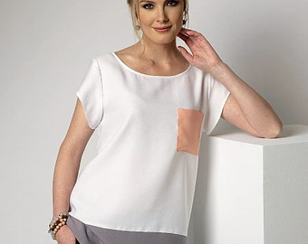 Butterick Pattern B6214 Misses' Top