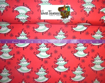 All the Trimmings Trim the Trees in Santa - Michael Miller - Cotton fabric - Choose your cut