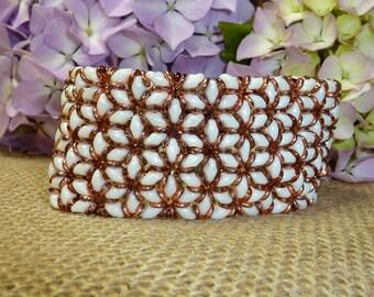 Starflower Cuff Bracelet