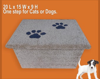 One step for cats or dogs.