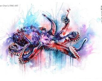 octopus(4 different sizes to choose at price:  20pound, 25pound, 28.50pound, 48pound)