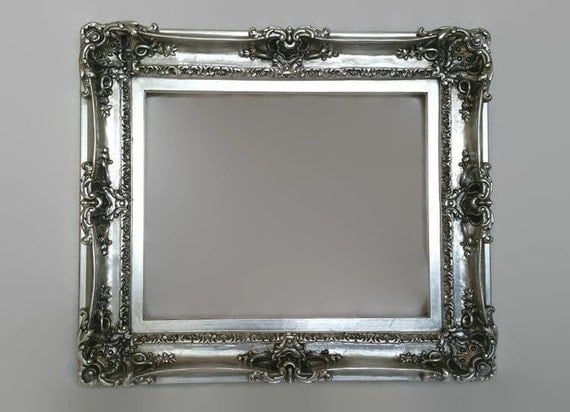 Silver Mirror Wall Photo Frame: 20x24 Silver Large Picture Frame