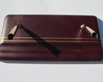 Vintage Desk   Top  Pen  Holder - dual    Holder