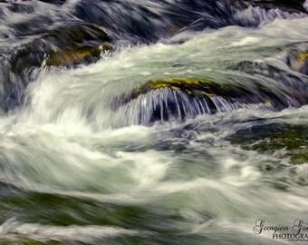 Water Landscape of Fires Creek
