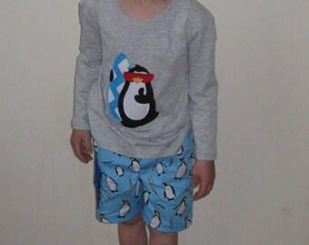 Boys Penguin Shorts
