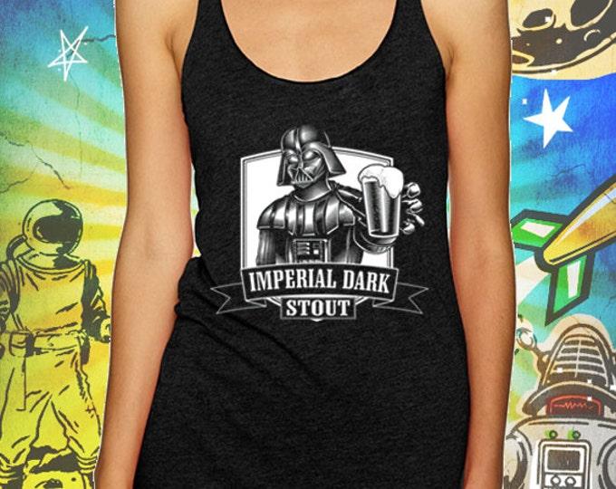 Darth Vader Tank Top Imperial Dark Stout Craft Beer Tank Top T Shirt Star Wars Beer Tank Top