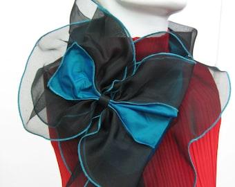 OOAK Silk Taffeta & Silk Organza Collars