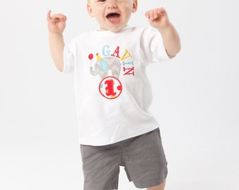Circus Shirt,Boy Circus Shirt,Birthday Circus Shirt
