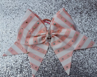 Sherbet pink bow