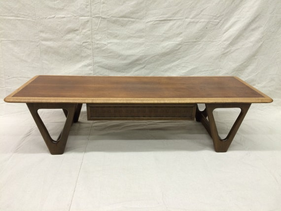 Two Tone Lane Perception Coffee Table With By Staticagerevival