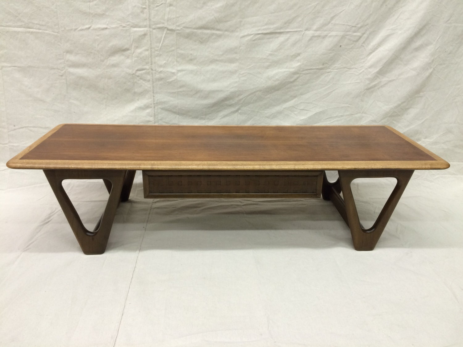 Two Tone Lane Perception Coffee Table With Drawer Haute Juice