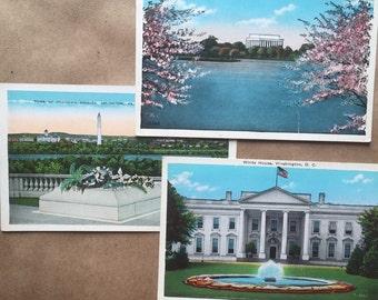Washington, DC Vintage Postcards