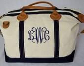 Monogrammed Weekender Sunshine Satchel Monogrammed Duffle Bag Monogrammed Overnight Bag Monogrammed Carry-On Bag Duffle Bag