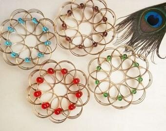 Wire Mandala - Meditation accessories - Chacras - Cosmic Movement
