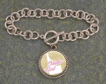 Idaho Girl Stuck On You Bracelet
