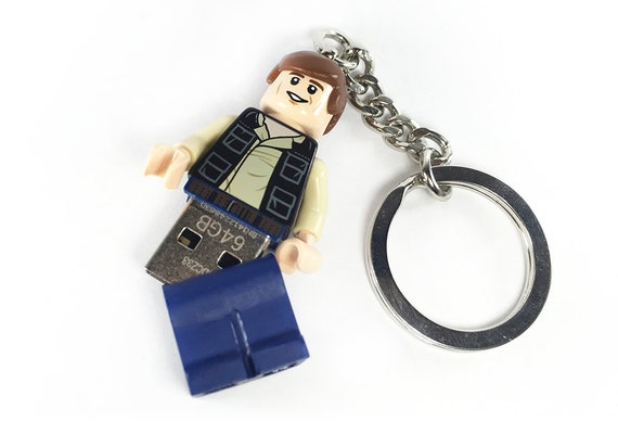 lego han solo usb minifig keychain star wars. Black Bedroom Furniture Sets. Home Design Ideas