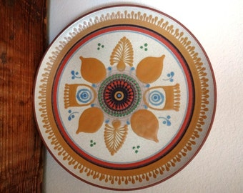 Vintage Midcentury Spanish Porta Celi Serving Platter